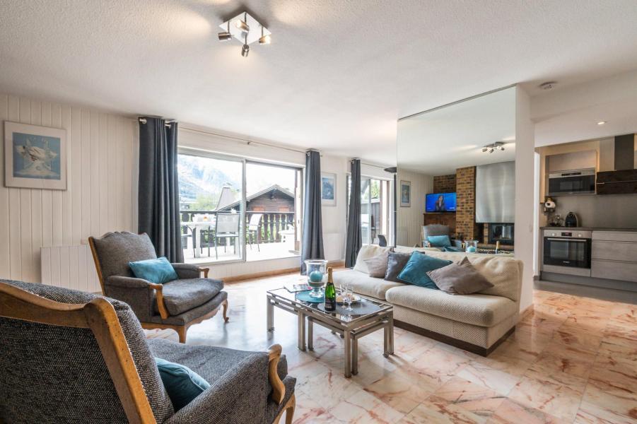 Vacances en montagne Appartement 3 pièces 4 personnes (AGATA) - Résidence le Clos du Savoy - Chamonix - Terrasse