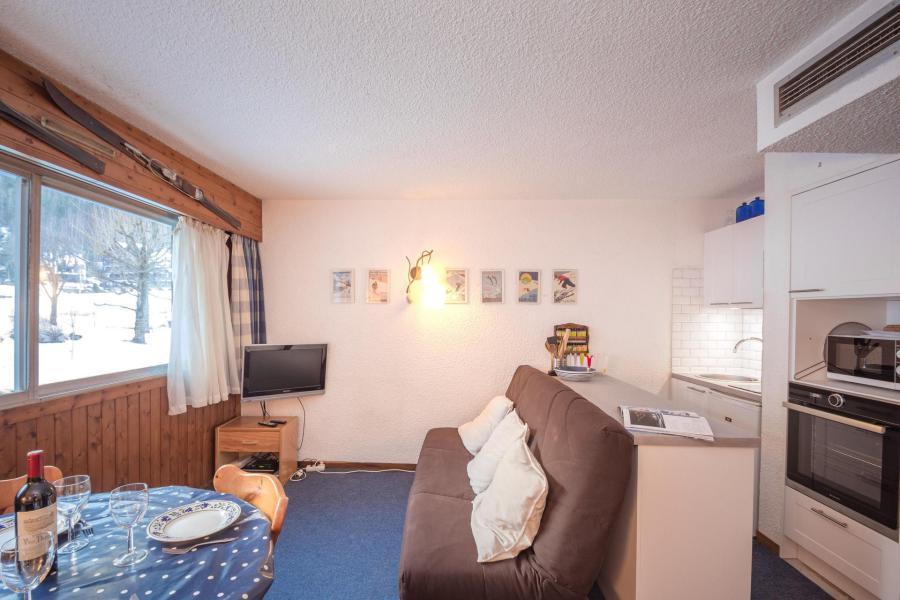 Vacances en montagne Studio 2-4 personnes (Dale) - Résidence le Clos du Savoy - Chamonix - Cuisine