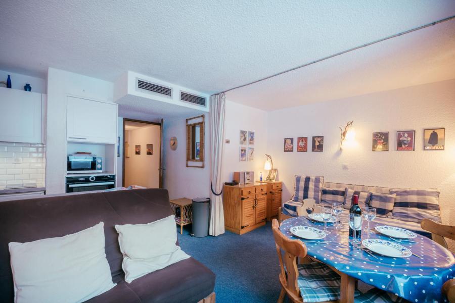 Vacances en montagne Studio 2-4 personnes (Dale) - Résidence le Clos du Savoy - Chamonix - Séjour
