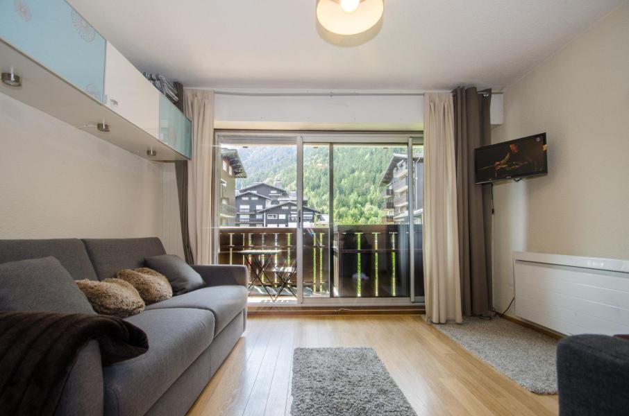 Vacances en montagne Studio 4 personnes (Quartz) - Résidence le Clos du Savoy - Chamonix - Séjour