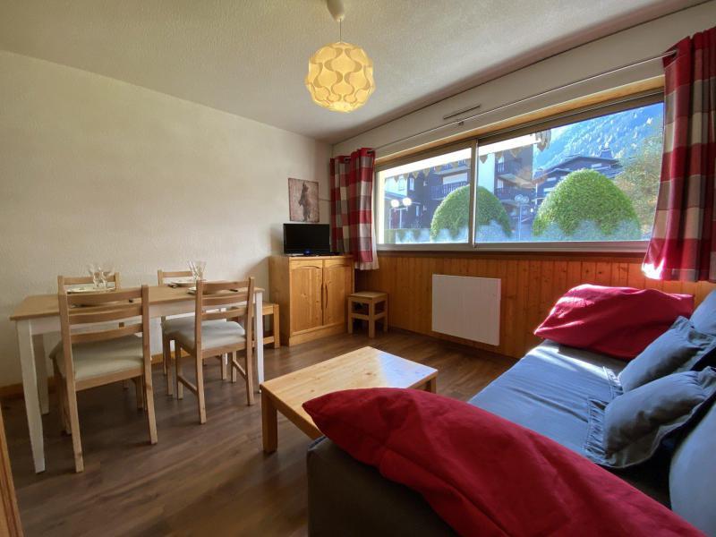 Vacances en montagne Studio coin montagne 4 personnes (Mirabel) - Résidence le Clos du Savoy - Chamonix - Séjour
