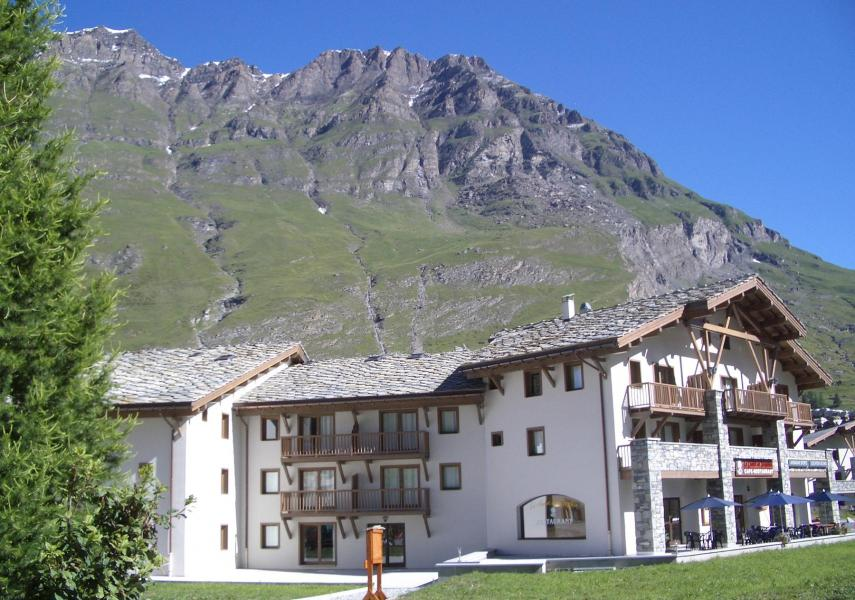 Rent in ski resort Residence Le Clos Vanoise - Bessans - Summer outside