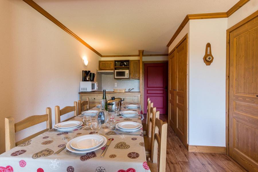 Urlaub in den Bergen Résidence le Clos Vanoise - Bessans - Offener Schlafbereich