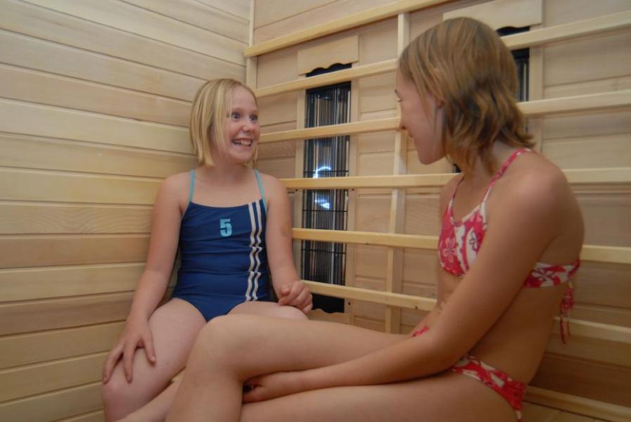 Urlaub in den Bergen Résidence le Clos Vanoise - Bessans - Sauna