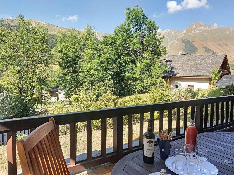 Wakacje w górach Apartament 2 pokojowy 4 osób (A1) - Résidence le Cochet - Saint Martin de Belleville - Na zewnątrz latem