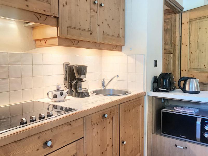 Wakacje w górach Apartament 2 pokojowy 4 osób (A1) - Résidence le Cochet - Saint Martin de Belleville - Aneks kuchenny