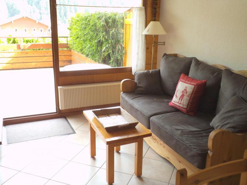 Holiday in mountain resort Studio cabin 4 people (3181) - Résidence le Cornillon - Le Grand Bornand - Settee