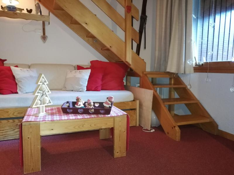 Vacances en montagne Studio mezzanine 5 personnes (040) - Résidence le Côté Soleil - Valmorel