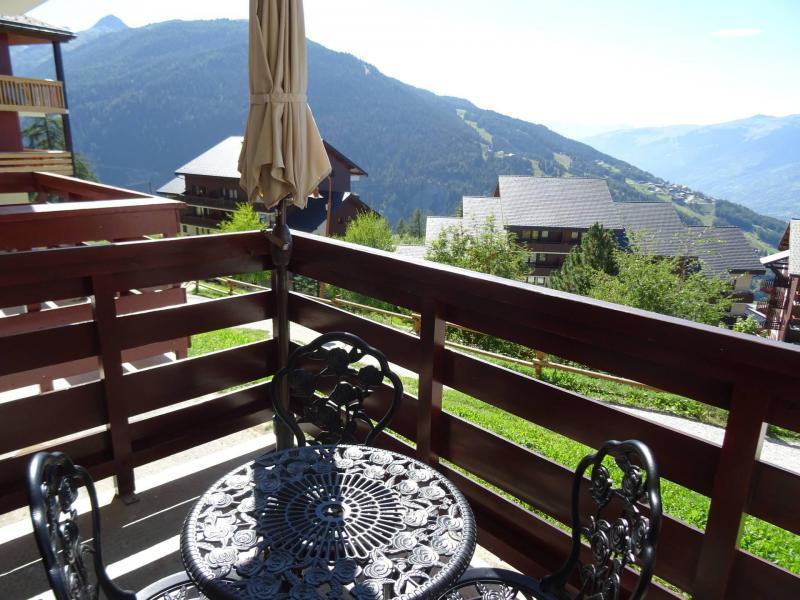 Location au ski Studio coin montagne 5 personnes (77) - Résidence le Crêt de l'Ours 1 - Peisey-Vallandry - Extérieur été