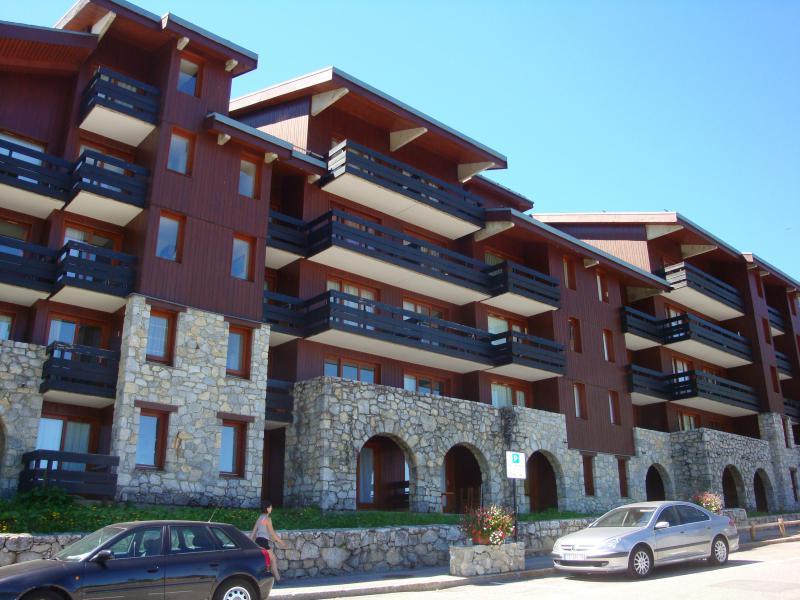 Location au ski Appartement 2 pièces 5 personnes (31) - Résidence le Creux de l'Ours A - Méribel-Mottaret - Extérieur été