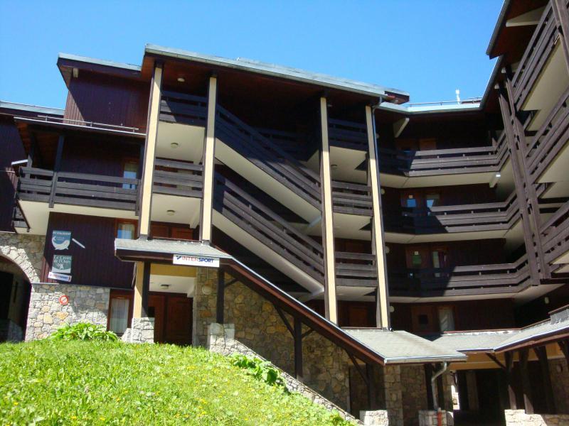 Location au ski Résidence le Creux de l'Ours B - Méribel-Mottaret - Extérieur été