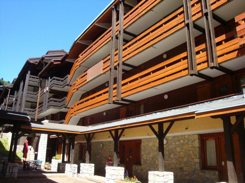 Location au ski Appartement 2 pièces 5 personnes (044) - Résidence le Creux de l'Ours D - Méribel-Mottaret - Extérieur été