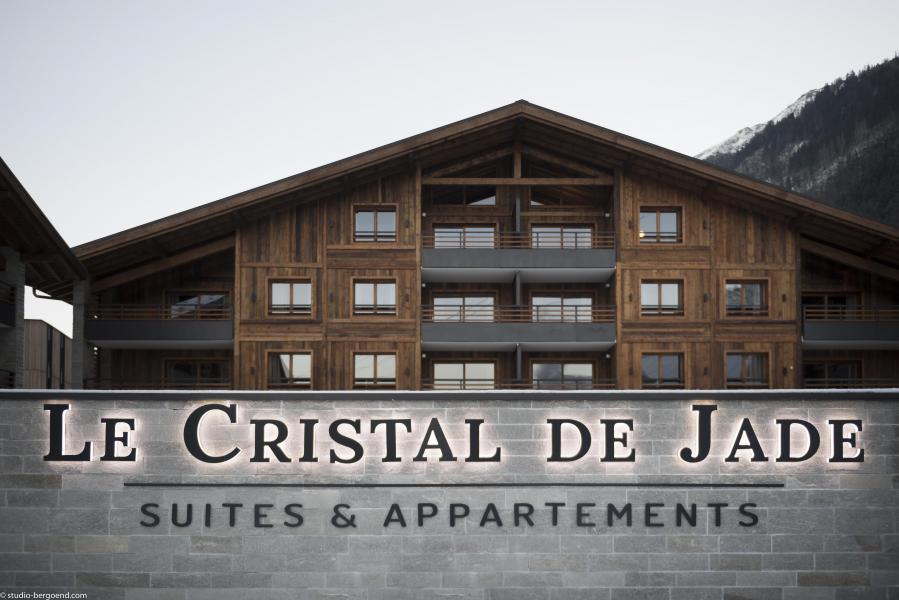 Location au ski Résidence le Cristal de Jade - Chamonix - Extérieur été