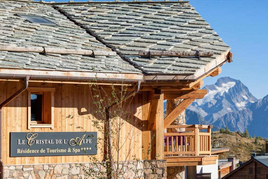 Location au ski Résidence le Cristal de l'Alpe - Alpe d'Huez - Extérieur été