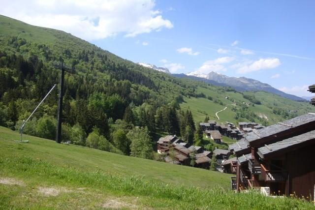 Vacances en montagne Studio 4 personnes (001) - Résidence le Cristallin - Valmorel - Extérieur été