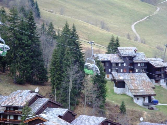Location au ski Studio 2 personnes (013) - Résidence le Cristallin - Valmorel - Extérieur été