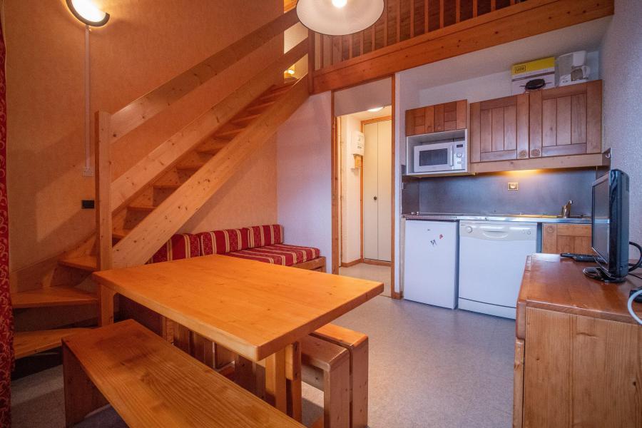 Vacaciones en montaña Apartamento 1 piezas mezzanine para 2 personas (059) - Résidence le Cristallin - Valmorel