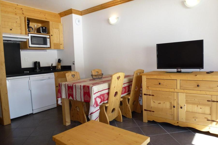 Urlaub in den Bergen 2-Zimmer-Appartment für 4 Personen - Résidence le Critérium - Val Cenis - Wohnzimmer