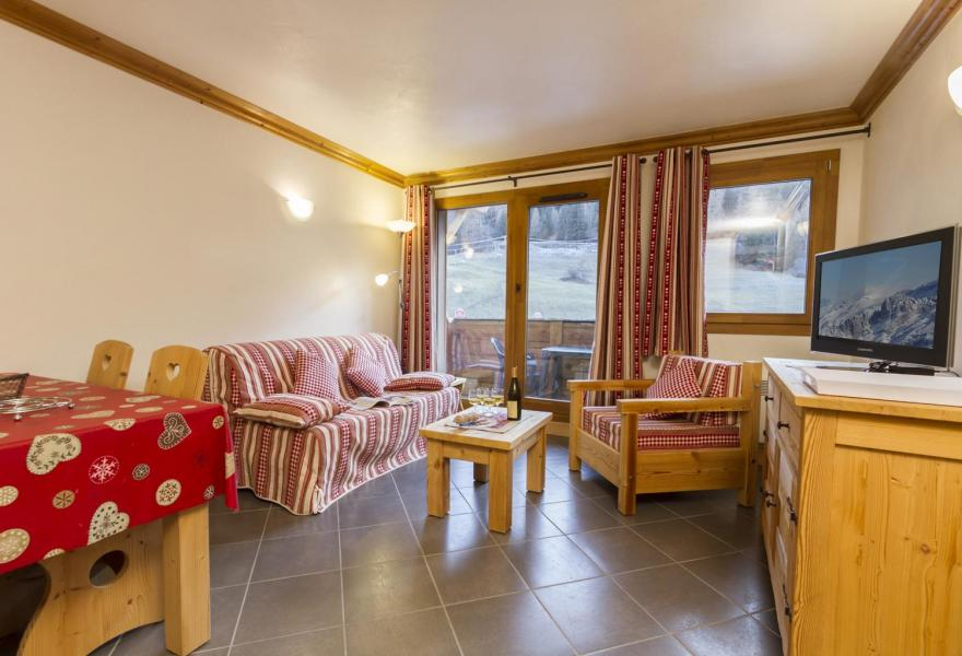 Holiday in mountain resort 3 room apartment 4-6 people - Résidence le Critérium - Val Cenis - Living room
