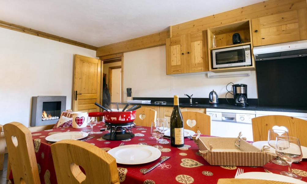Holiday in mountain resort 4 room apartment 6 people - Résidence le Critérium - Val Cenis - Dining area