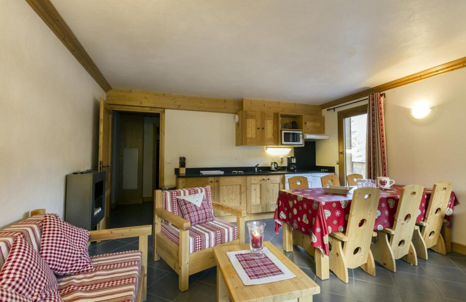 Vacaciones en montaña Apartamento 4 piezas para 6 personas - Résidence le Critérium - Val Cenis - Estancia