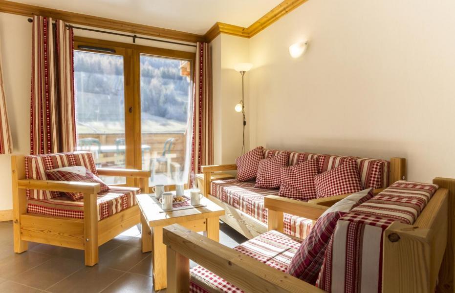 Vacaciones en montaña Apartamento 4 piezas para 6 personas - Résidence le Critérium - Val Cenis - Sofá