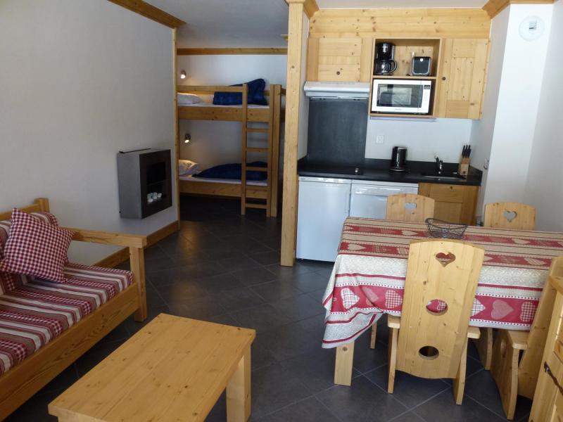 Vacances en montagne Appartement 2 pièces 4 personnes - Résidence le Critérium - Val Cenis - Séjour