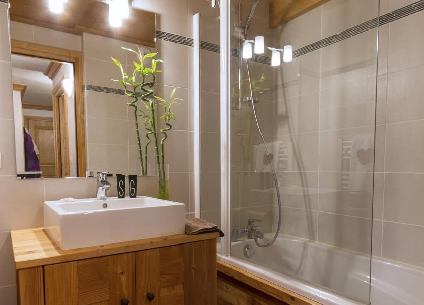 Holiday in mountain resort Résidence le Critérium - Val Cenis - Bathroom