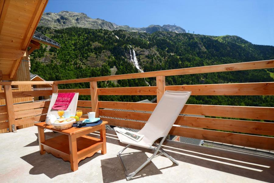 Аренда на лыжном курорте Résidence le Crystal Blanc - Vaujany - летом под открытым небом