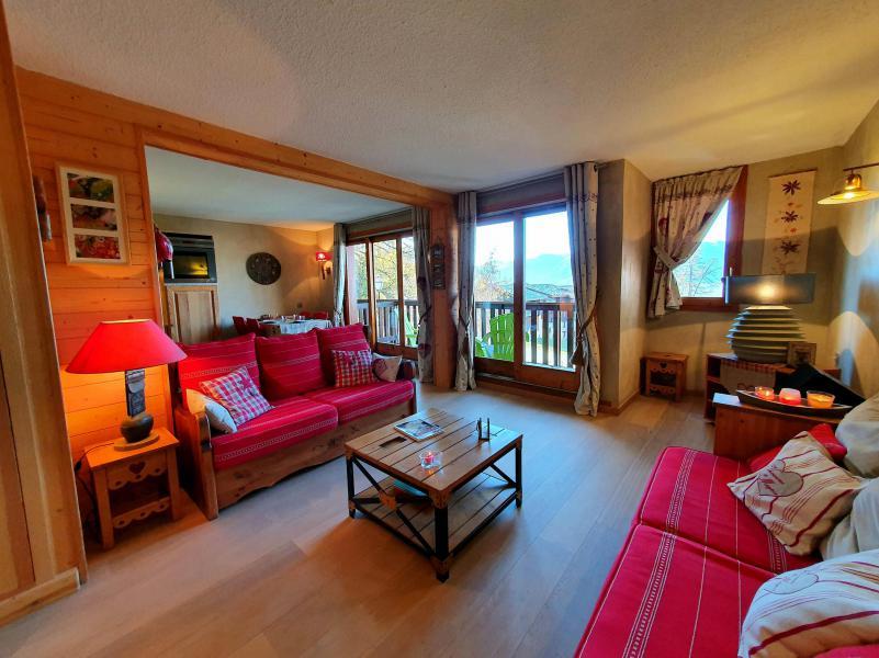 Vacances en montagne Appartement 3 pièces 5 personnes (012) - Résidence le Damier - Montchavin La Plagne