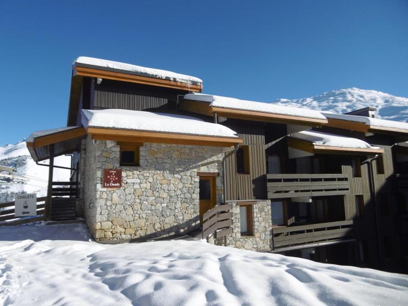 Vacances en montagne Résidence le Dandy - Méribel-Mottaret