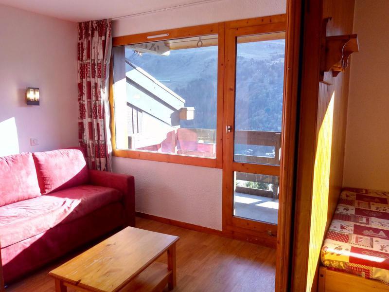 Vacances en montagne Studio 4 personnes (077) - Résidence le Dandy - Méribel-Mottaret - Séjour