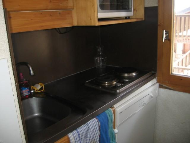Vacances en montagne Appartement 2 pièces 5 personnes (006) - Résidence le Dé 1 - Montchavin La Plagne - Kitchenette
