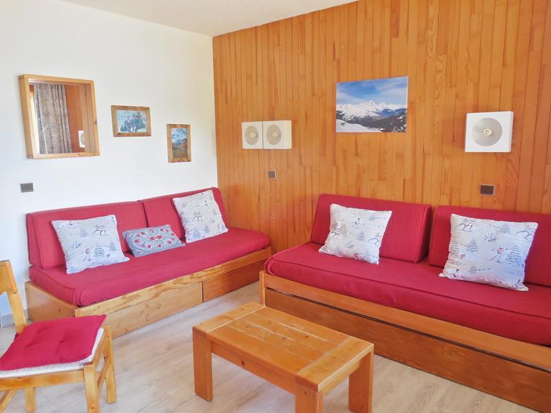 Vacances en montagne Appartement 2 pièces 6 personnes (006) - Résidence le Dé 2 - Montchavin La Plagne - Séjour