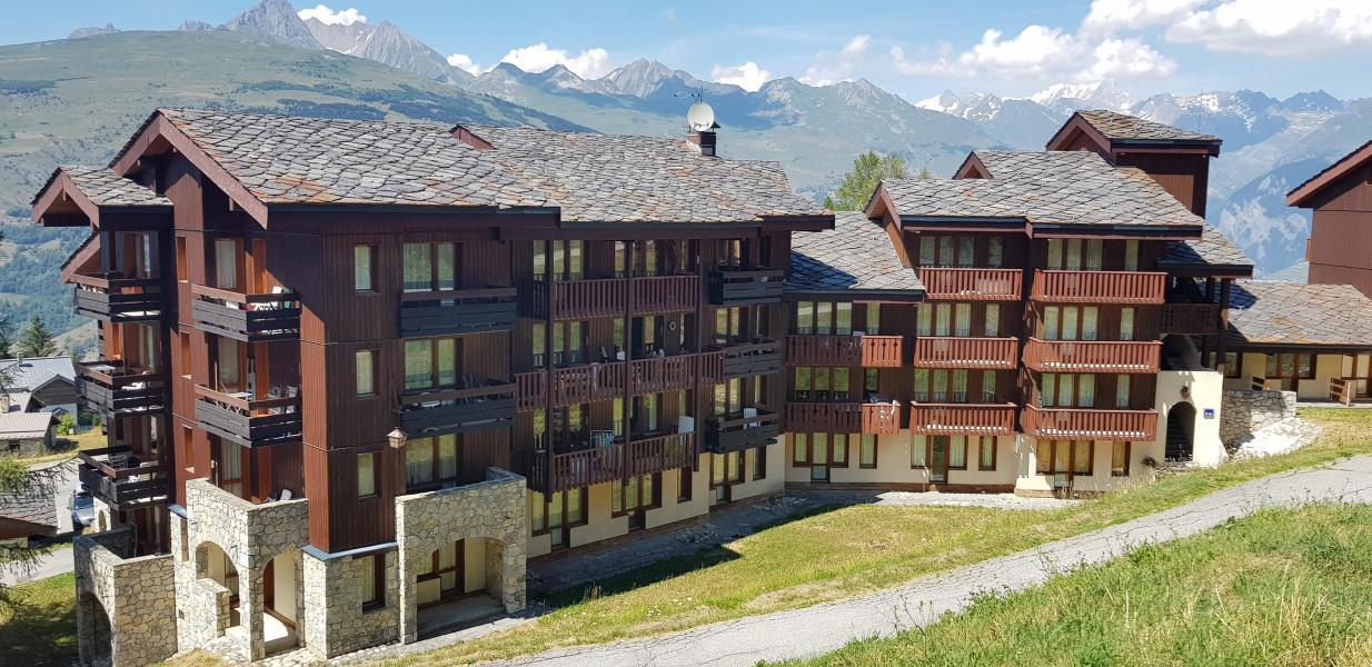 Vacances en montagne Appartement 4 pièces 9 personnes (215) - Résidence le Dé 3 - Montchavin La Plagne - Extérieur été