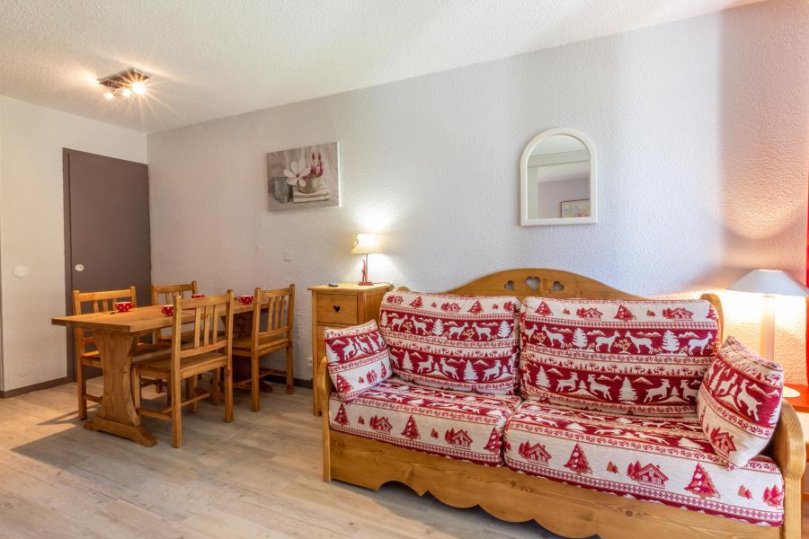 Vacances en montagne Appartement 2 pièces 4 personnes (008) - Résidence le Dé 3 - Montchavin La Plagne - Banquette-lit
