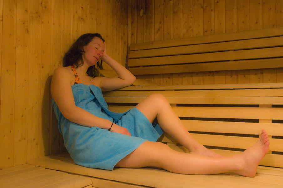 Holiday in mountain resort Résidence le Domaine de Castella - Font Romeu - Sauna
