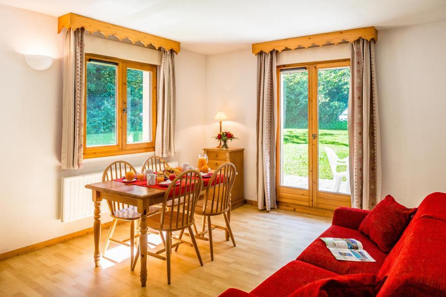 Vacances en montagne Résidence le Domaine du Grand Tétras - Samoëns - Salle à manger