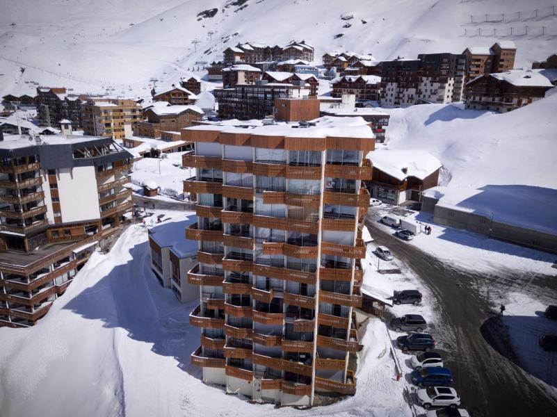 Vacances en montagne Studio 3 personnes (302) - Résidence le Dôme de Polset - Val Thorens