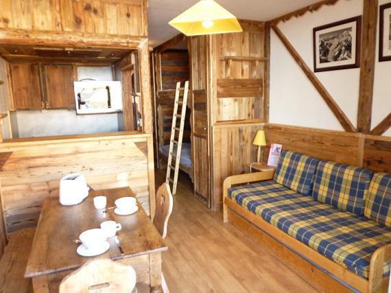 Vacances en montagne Studio 3 personnes (607) - Résidence le Dôme de Polset - Val Thorens - Séjour