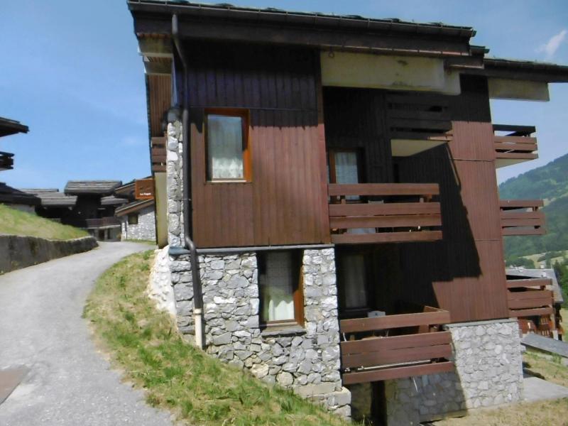 Ski verhuur Studio 4 personen (008) - Résidence le Fagot - Valmorel - Buiten zomer