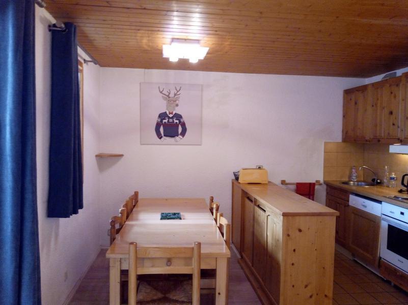Vacances en montagne Appartement 3 pièces 6 personnes (004) - Résidence le Florilège - Méribel-Mottaret - Coin repas