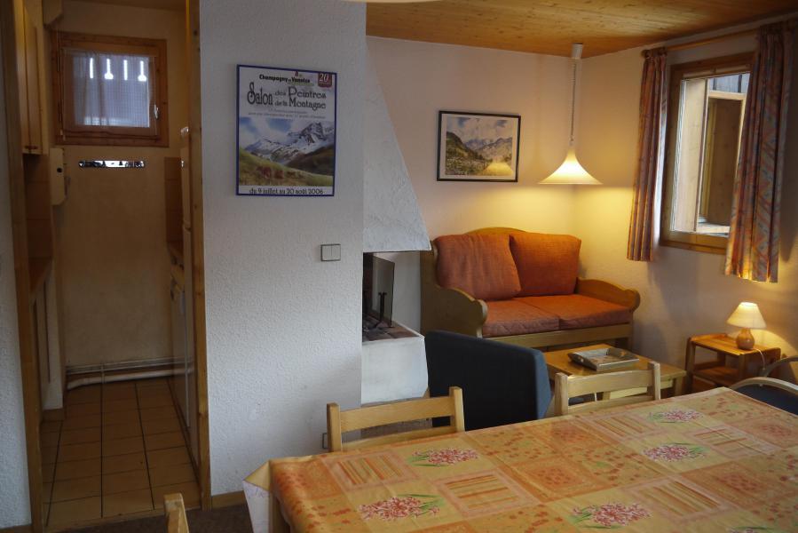 Vacances en montagne Appartement 4 pièces 8 personnes (005) - Résidence le Florilège - Méribel-Mottaret - Banquette