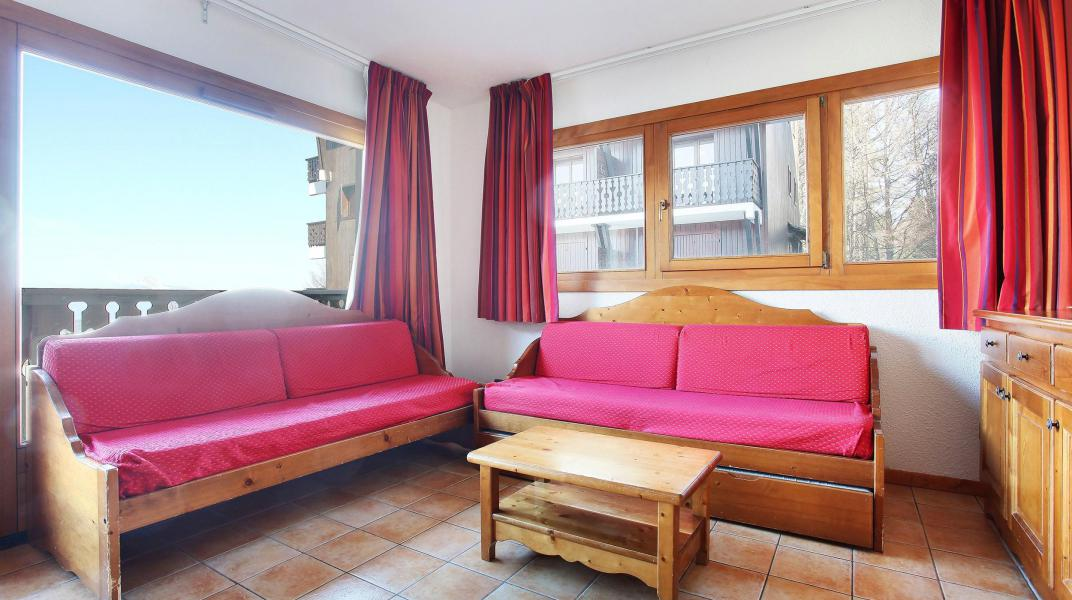 Urlaub in den Bergen Résidence le Front de Neige - Les Carroz - Wohnzimmer