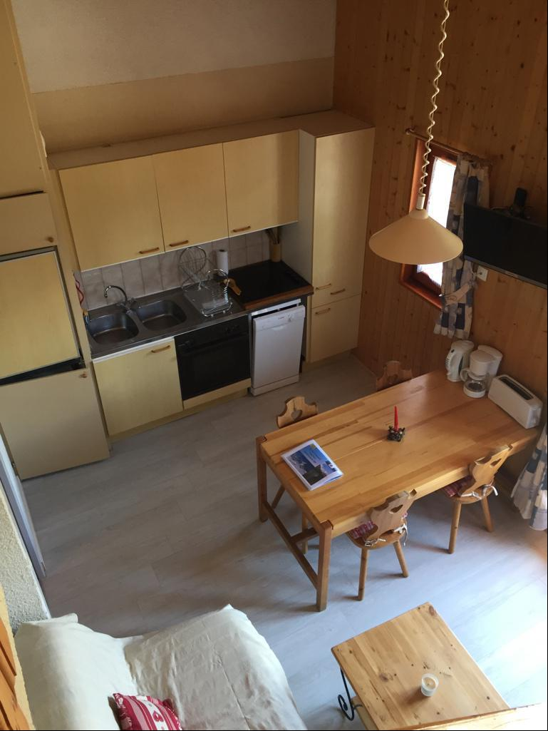 Wakacje w górach Apartament 3 pokojowy z antresolą 6 osób (209) - Résidence Le Genevray - Aussois