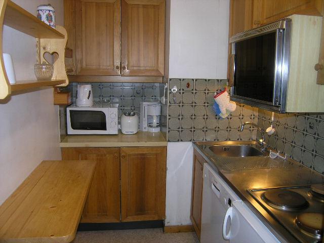 Vacances en montagne Appartement 2 pièces 4 personnes (9) - Résidence le Genèvrier - Méribel - Kitchenette