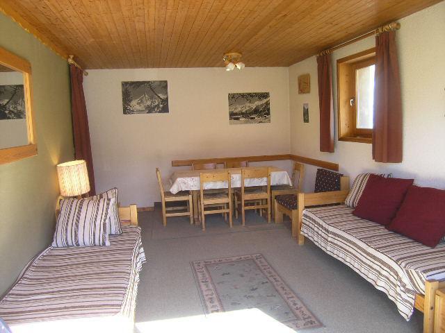 Vacances en montagne Appartement 2 pièces 4 personnes (9) - Résidence le Genèvrier - Méribel - Séjour