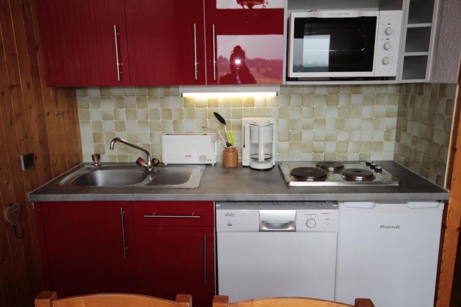 Vacaciones en montaña Apartamento 2 piezas mezzanine para 7 personas (016) - Résidence le Glacier B - Les Saisies - Kitchenette