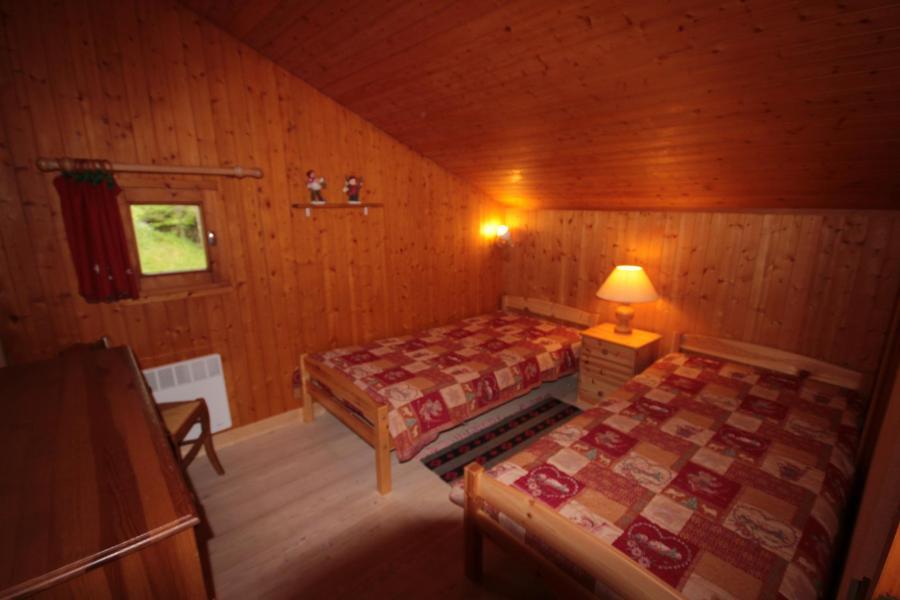 Vacaciones en montaña Apartamento 3 piezas mezzanine para 8 personas (013) - Résidence le Glacier B - Les Saisies - Cama individual