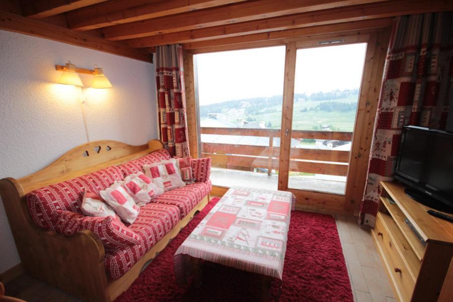 Vacaciones en montaña Apartamento 3 piezas mezzanine para 8 personas (013) - Résidence le Glacier B - Les Saisies - Estancia